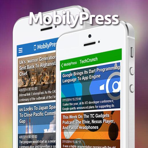 mobilypress - tema móvil Wordpress | ScriptsMashup
