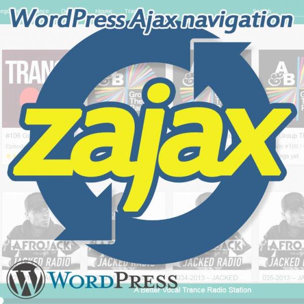 Ajax Navigation - zajax