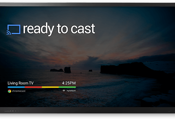 Send to Chromecast
